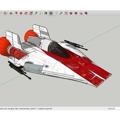 Download free 3D printer model A-Wings_Suck_Star_Wars, rostchup228