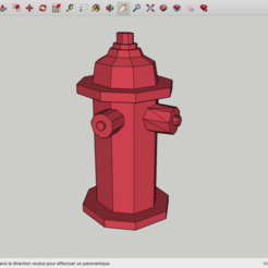 Download free 3D printing templates Low Poly Fire Hydrant, rostchup228