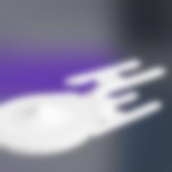 Download free 3D model USS_Stargazer_NCC-2893_Starship, rostchup228