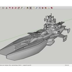 Download free 3D printer model Shogun_Battleship_Red_Alert_3, rostchup228