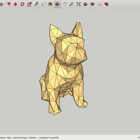Télécharger fichier impression 3D gratuit Chien, rostchup228