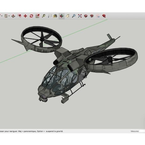Download free 3D printer model Twin_Rotored_Dropship_Avatar, rostchup228