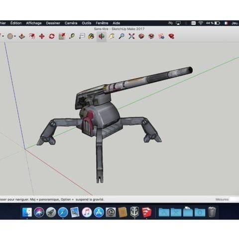 Download free 3D printer designs Turret_Star_Wars, rostchup228