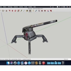 Descargar modelo 3D gratis Torreta_Estrella_Wars, rostchup228