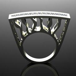 STL file seven ring, mahfar