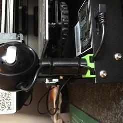 Download free 3D printer templates Ender 3 PRO logitech USB webcam mount, berrevoetsmarco