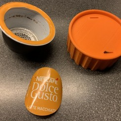 coffie_cup_cutter.jpg Download free OBJ file Dolce gusto cup cutter • 3D printer object, berrevoetsmarco
