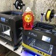 Download free 3D print files Air Raid Siren - hand crank version 2, rcairadventures