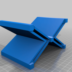 MIDDLE.png Download free STL file Stand for TRAXXAS SUMMIT 1/10 • 3D printable design, delbeu