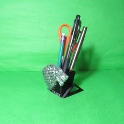 Descargar archivos 3D Pen holder House Stark Game of thrones pencil holder, ponchoaem