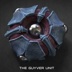 111.jpg Download STL file Guyver unit (module) • 3D printer model, GrinNT