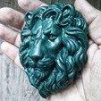 Descargar archivos 3D Alivio de la cabeza de los Leones, GrinNT