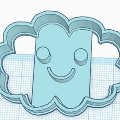 nube.jpg Download STL file happy cloud cookie cutter • Template to 3D print, SandryBoop