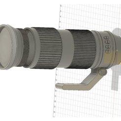 3D print model DSLR zoom camera lense - storage box, alexw80