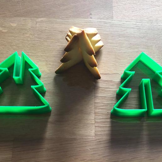 MOULE SAPIN.png Télécharger fichier STL gratuit emporte piece sapin 3D  cookie cutter fir 3D • Objet pour imprimante 3D, fantibus14