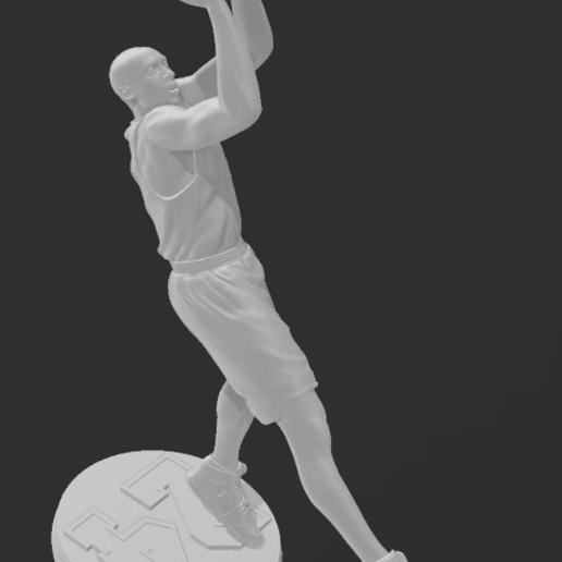 kobe 3.png Télécharger fichier STL gratuit statue kobe bryant • Design à imprimer en 3D, fantibus14