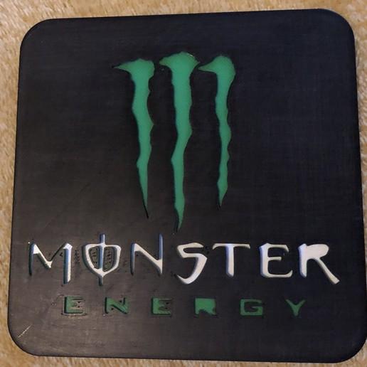 Download free 3D printer model monster energy, fantibus14