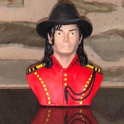 Download free 3D model Bust michael jackson, fantibus14