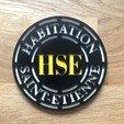 Download free STL HSE coaster, fantibus14