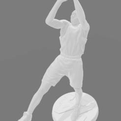 Download free STL file Kobe Bryant statue • 3D print object, fantibus14