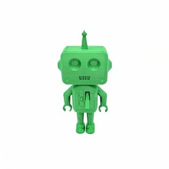 IMG_20210111_111459.jpg Download free STL file Cyber_Rob the robot (3D printer test) • 3D printable object, Cyber_3dprinter