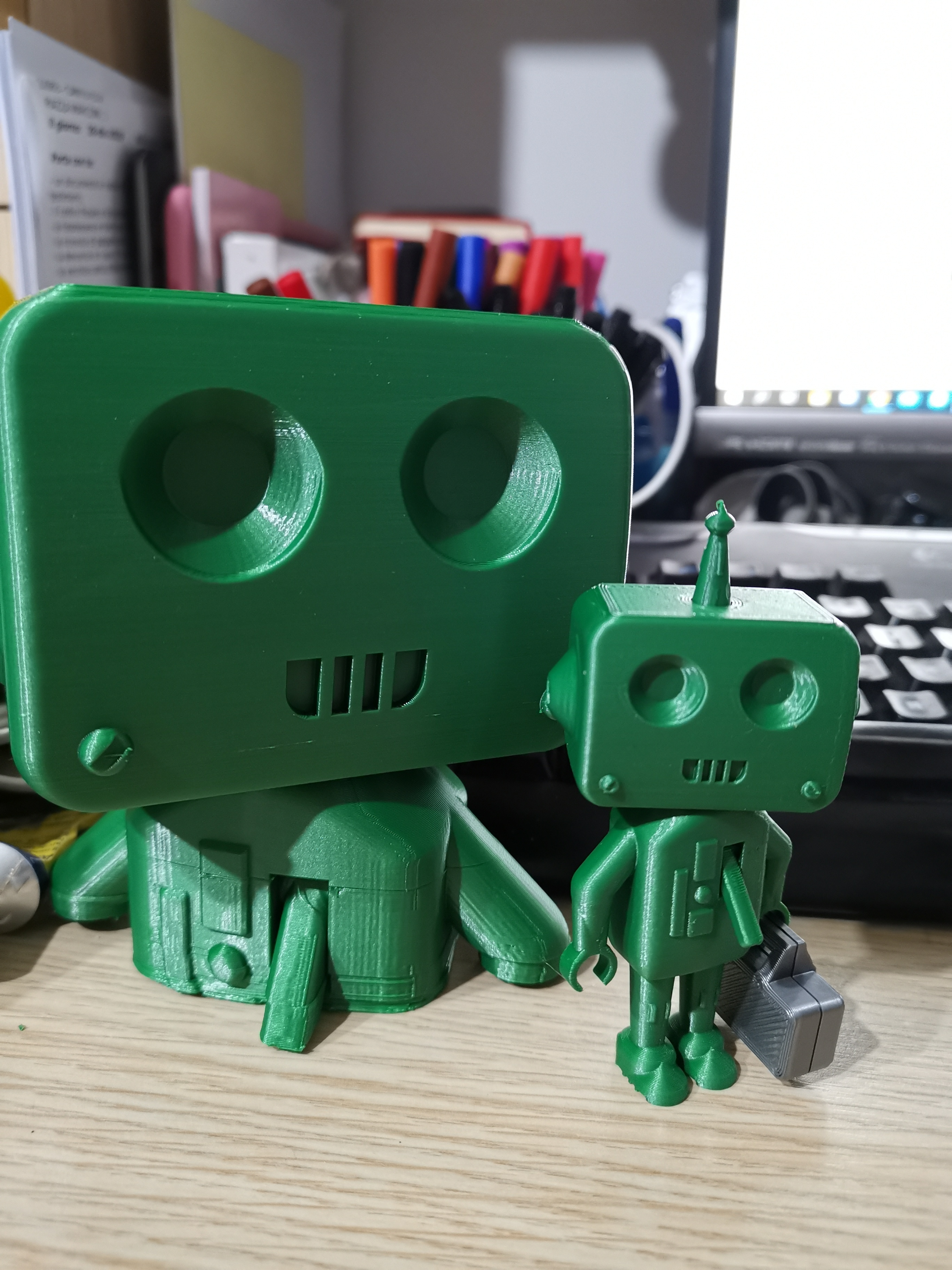 Download free STL file Cyber_Rob the robot (3D printer test) • 3D printable object, Cyber_3dprinter