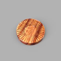 Download free 3D printer model Coffee plate, Amino