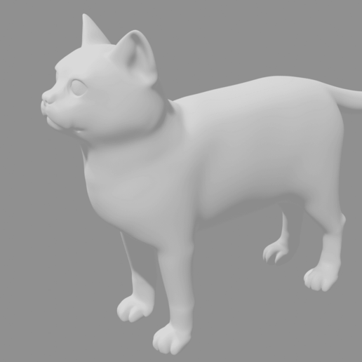 Cat1.png Télécharger fichier STL gratuit Chat • Modèle pour impression 3D, osayomipeters