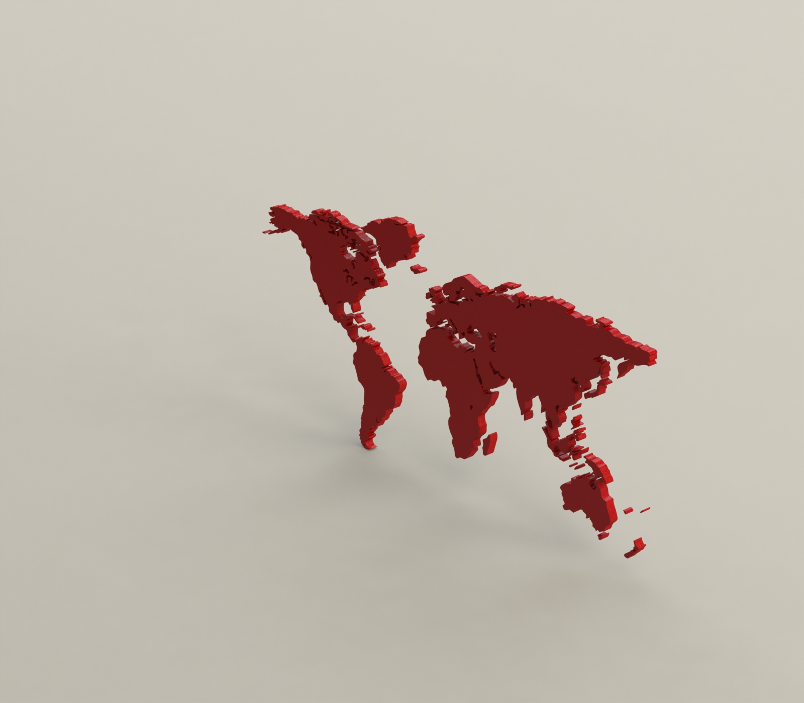 2.JPG Download free STL file World map • 3D print template, osayomipeters