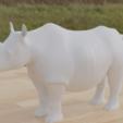 rhino5.png Télécharger fichier STL gratuit Rhino • Modèle pour impression 3D, osayomipeters