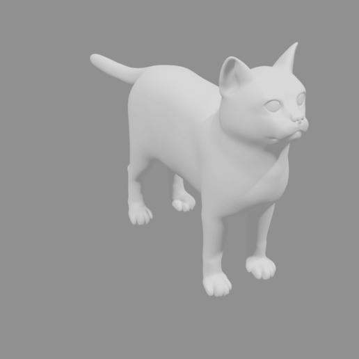 Cat3 (1).png Télécharger fichier STL gratuit Chat • Modèle pour impression 3D, osayomipeters