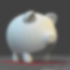 PiggyBank.obj Télécharger fichier OBJ gratuit Tirelire • Modèle pour impression 3D, osayomipeters