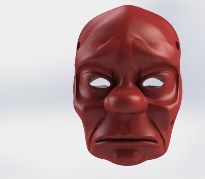 4.JPG Télécharger fichier STL gratuit Masque • Objet pour impression 3D, osayomipeters