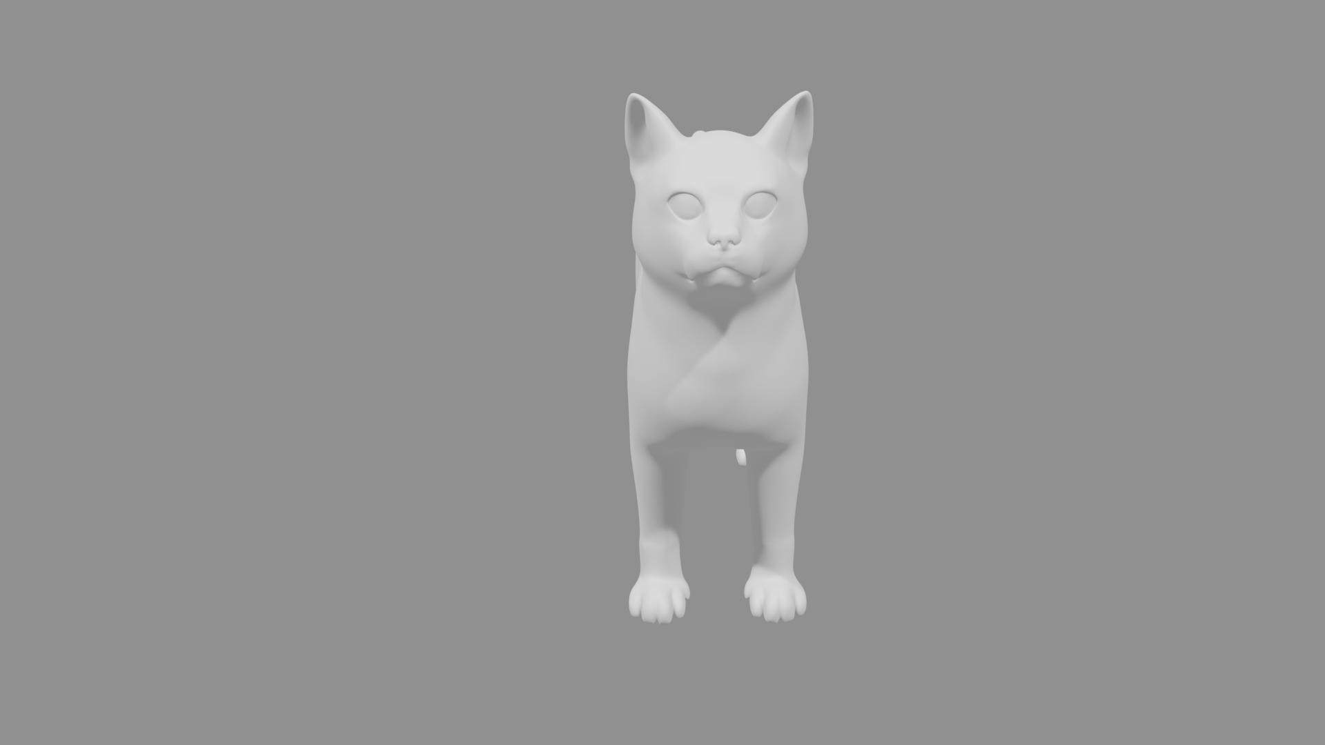Cat3 (2).png Télécharger fichier STL gratuit Chat • Modèle pour impression 3D, osayomipeters