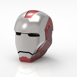 Download free STL file Iron Man Mask • 3D printing template, osayomipeters