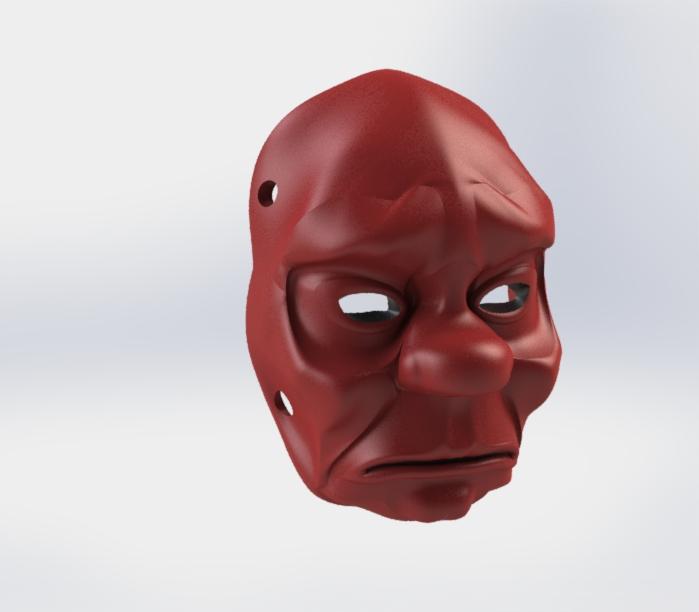 1-1.JPG Télécharger fichier STL gratuit Masque • Objet pour impression 3D, osayomipeters