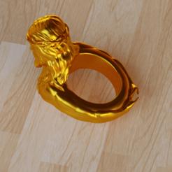 Diseños 3D Anillo Jesús, osayomipeters