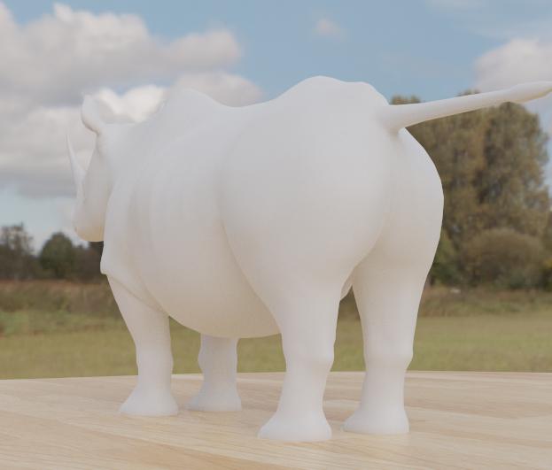 rhino2.png Télécharger fichier STL gratuit Rhino • Modèle pour impression 3D, osayomipeters