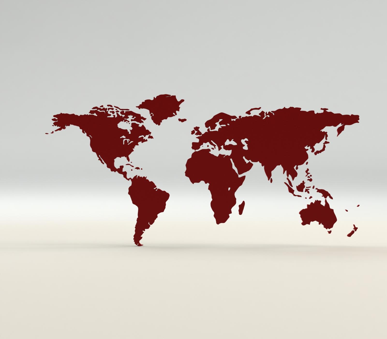 1.JPG Download free STL file World map • 3D print template, osayomipeters