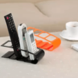 3.png Download free STL file Remote control and phone holder • 3D print model, osayomipeters