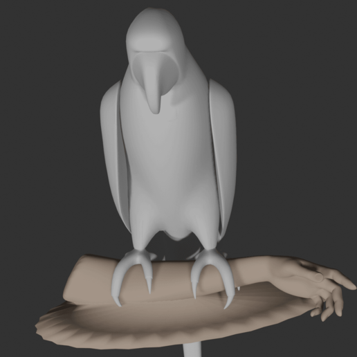 Parrot7.png Download free STL file Parrot • 3D printing template, osayomipeters
