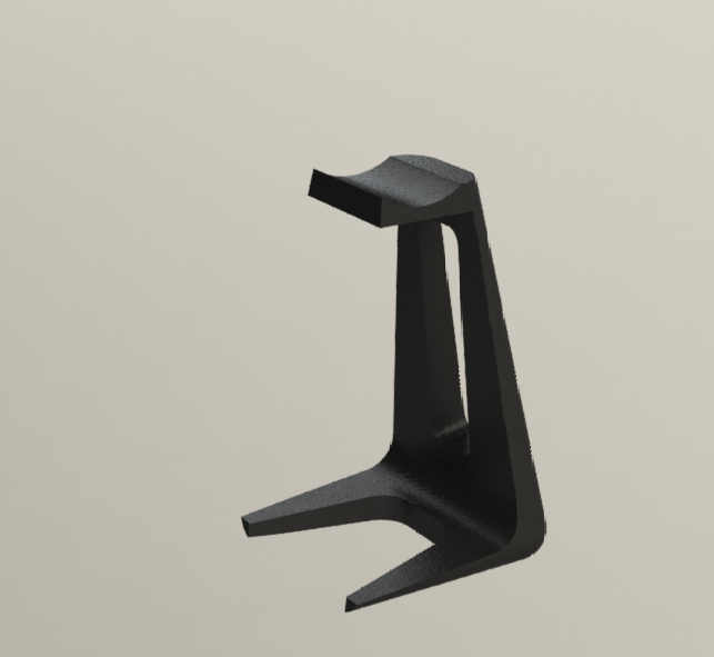 headphone stand1.png Download free STL file Headphone stand • 3D printable object, osayomipeters