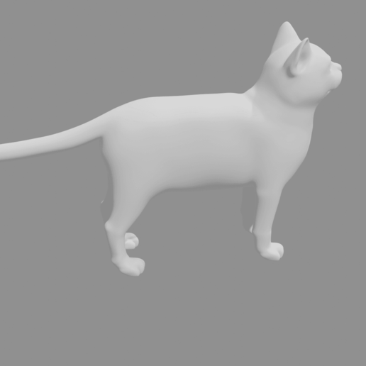 Cat4.png Télécharger fichier STL gratuit Chat • Modèle pour impression 3D, osayomipeters