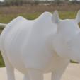 rhino1.png Télécharger fichier STL gratuit Rhino • Modèle pour impression 3D, osayomipeters