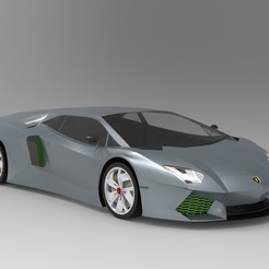 Download free 3D printing files Lamborghini, osayomipeters