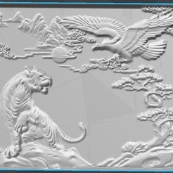 Download 3D print files The lion and the bird, osayomipeters