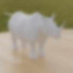 Rhino.stl Télécharger fichier STL gratuit Rhino • Modèle pour impression 3D, osayomipeters