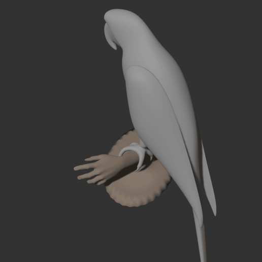 Parrot5.png Download free STL file Parrot • 3D printing template, osayomipeters