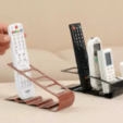4.png Download free STL file Remote control and phone holder • 3D print model, osayomipeters
