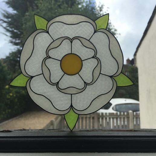 Download free STL Yorkshire Rose, Foggyeye